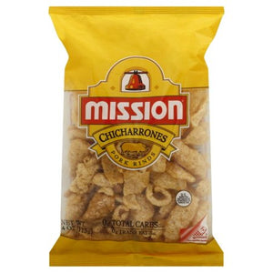 MISSION CHICHARRONES PORK RINDS