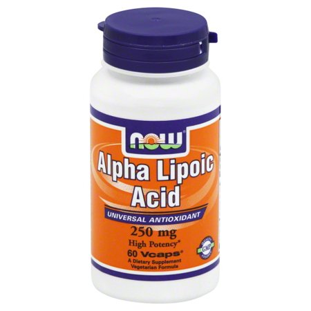 NOW ALPHA LIPOIC ACID 250mg 60 VEG CAPSULES