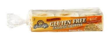 Food For Life - Gluten Free Brown Rice English Muffins 18.00 oz