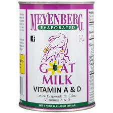 MEYENBERG EVAPORATED GOAT MILK, 12 FZ