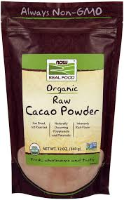 NOW ORGANIC RAW CACAO POWDER .2 Oz