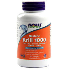 NOW NEPTUNE KRILL 1000 mg, 60 SOFTGELS