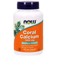 NOW CORAL CALCIUM - 1000 mg