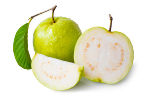 FRESH WHITE GREEN GUAVA / PER POUND