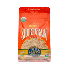 Lundberg Organic Short Grain Brown Rice 32 OZ