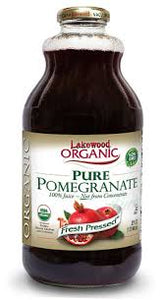 LAKEWOOD ORGANIC PURE POMEGRANATE 32 OZ