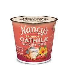 NANCY'S	OATMILK STRAWBERRY YOGURT 6OZ