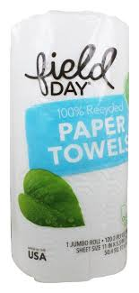 FIELDY PAPER TOWELS CUSTOM SIZE 120ct