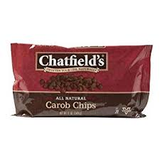 CHATFIELD'S MORSELS, CAROB CHIPS 12oz