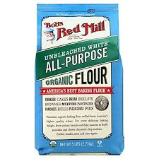BOB'S RED MILL ORGANIC WHITE UNBLEACHED FLOUR 5lb