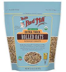 BOB'S RED MILL ORGANIC EXTRA THICK ROLLED OATS 32 OZ