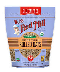 BOB'S RED MILL ORGANIC GLUTEN FREE THICK ROLLED OATS 32oz