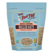 BOB'S RED MILL ORGANIC QUICK COOKING ROLLED OATS 32 OZ