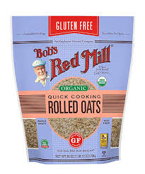 BOB'S RED MILL ORGANIC GLUTEN FREE QUICK COOKING ROLLED OATS 28 Oz