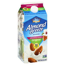 BLUE-D ALMOND BREEZE, ORIGINAL UNSWEETENED 64 oz