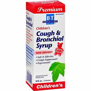 BOERICKE & TAFEL - COUGH & BRONCHIAL SYRUP FPR CHILDREN CHERRY FLAVOR - 8 FL OZ