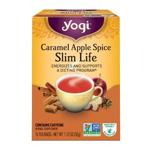 YOGI CARAMEL APPLE SPICE SLIM LIFE 16BAG