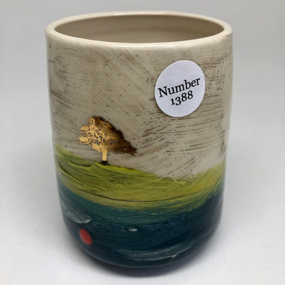 Tumbler with Gold Decal #1388