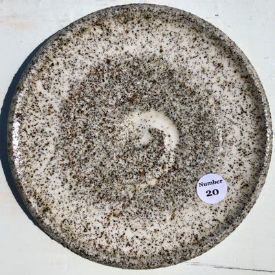 Party Plate with Beach sand from Lance Cove Beach Upper Gullies #20