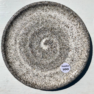Party Plate with Beach sand from Lance Cove Beach Upper Gullies #100
