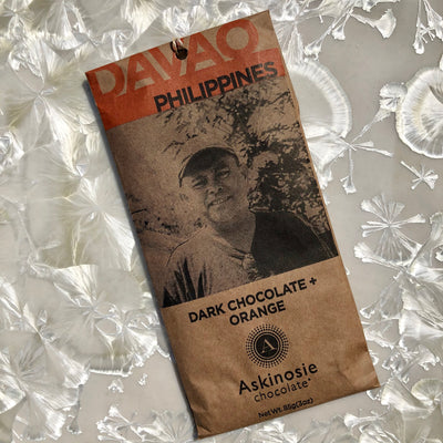 Askinosie Philippines Dark Chocolate with Orange