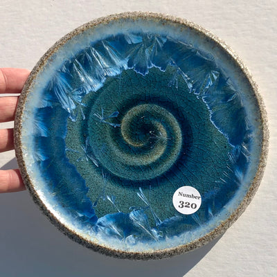 Party Plate with Beach Sand from Duntara, Newfoundland #320