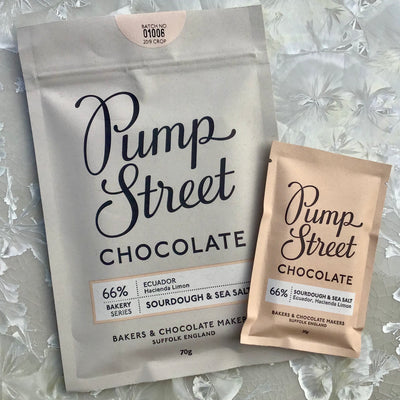 Pump Street 66% Sourdough & Sea Salt 70g bar