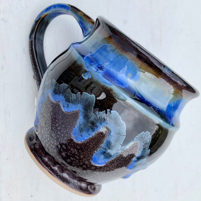 Northern Night Mug, Blue Rim # 142