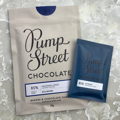 Pump Street Ecuador 85% Hacienda Limon 70g bar