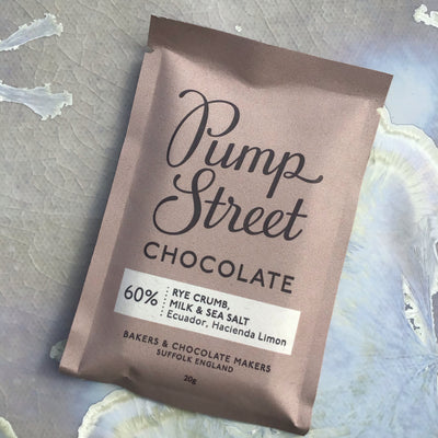 Pump Street 60% Rye Crumb, Milk & Sea Salt