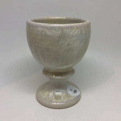 Small White Goblet #f126