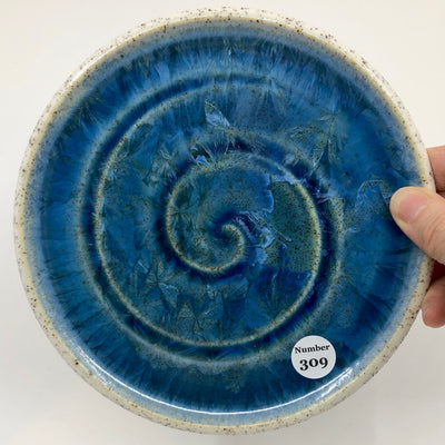 Party Plate with Beach Sand from Duntara, Newfoundland #309