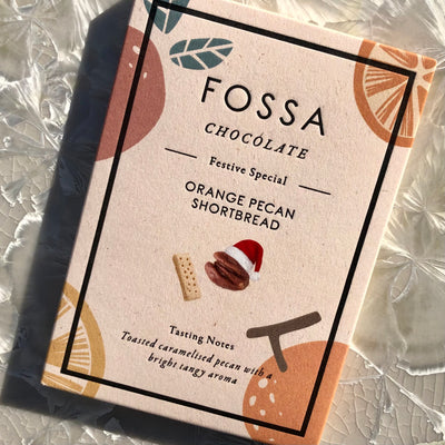 Fossa Orange Pecan Shortbread Bar