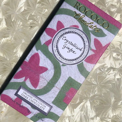 Rococo Candied Ginger Bar