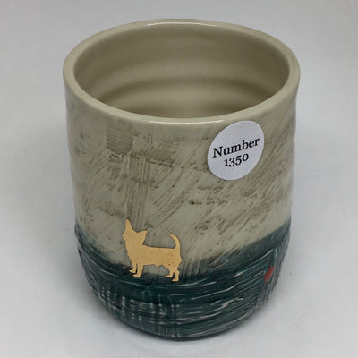 Cup with Gold Decal #1350