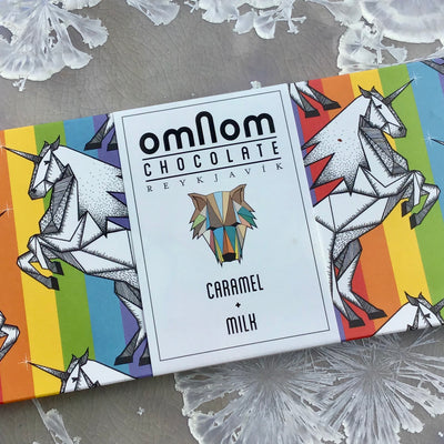 Giant Omnom Chocolate Caramel + Milk (250g!)