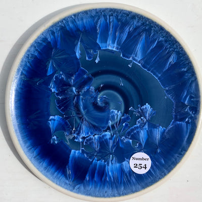 Party Plate with Swirl #254