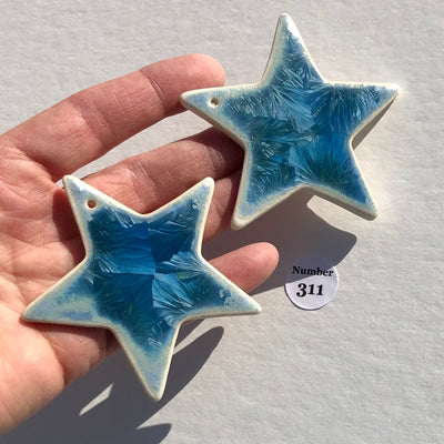 Copy of Collection of Two Stars with Sea Star Impression #90