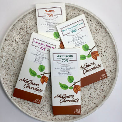 Chocolate Care Package - McGuire Dark Chocolate