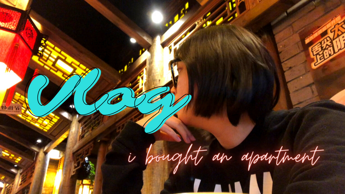 Shanghai Beijing Vlog - Covid, fancy store, rice balls, my FIRST apartment - Chinese & English Sub