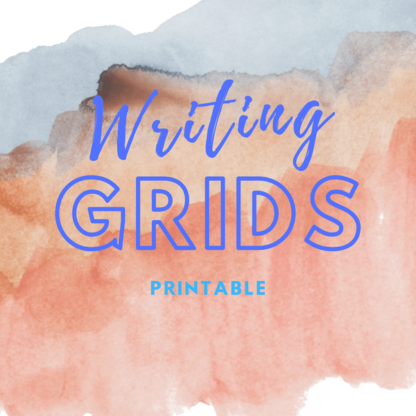 Downloadable Writing Grids Paper For Practicing Chinese Writings