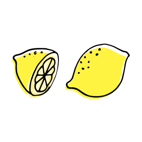 A Lemon and a Half | Habitatt Supply Co | Finest Quality Designed Temporary Tattoos