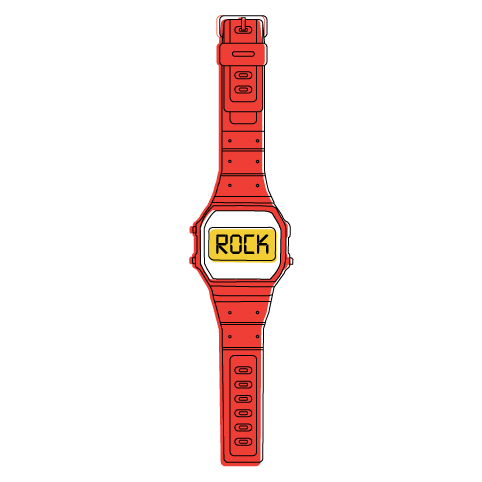 Time to Rock (Red)