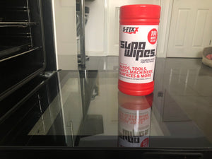 SUPAWIPES - Powerful cleaning wipes designed to remove the toughest spills & stains