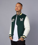 College Wool Patch Jacket