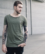 Cutted Neck t-shirt by Distorted People