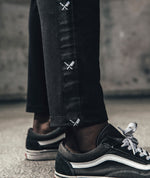Exile Trackpants pants by Distorted People