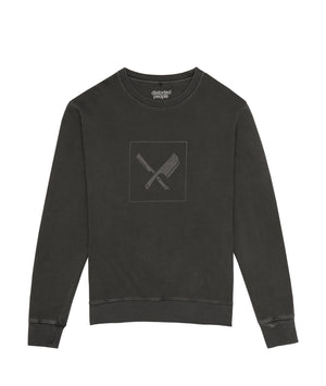 Blades Box Logo Crew Neck Sweater