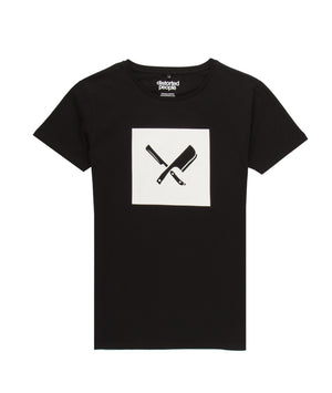 Box Blades Grand Crew Neck t-shirt by Distorted People