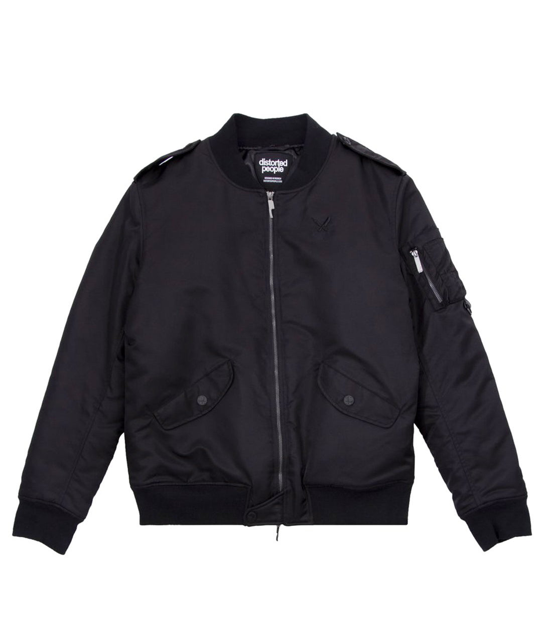 distorted people - Classic Heavy Bomber Jacket